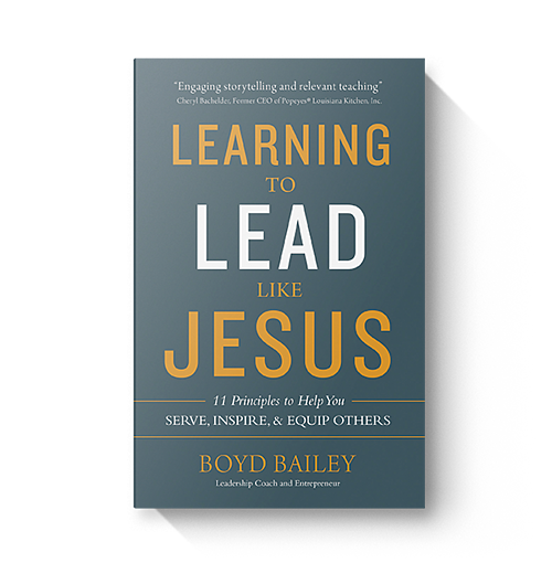 Learning to Lead Like Jesus by Boyd Bailey