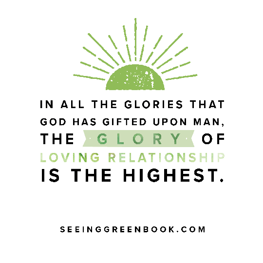 In all the glories that God has gifted...